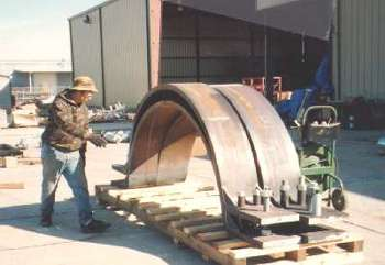"86"" Diameter Clamps"