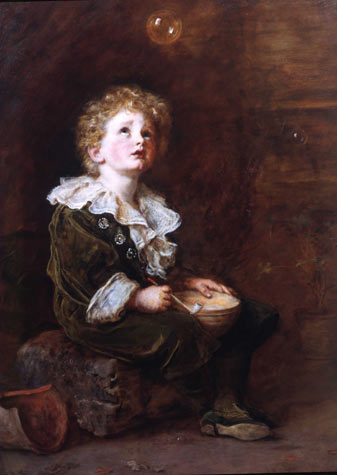 Bubbles by Millais