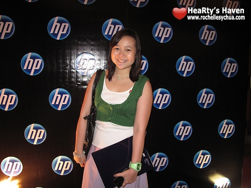 Roch at HP Event