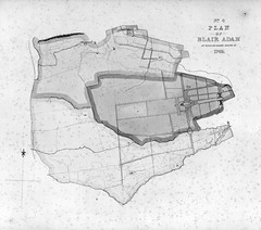 Blair Adam estate, Kinross-shire Plans