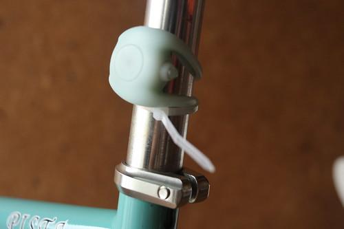 Tied cable tie