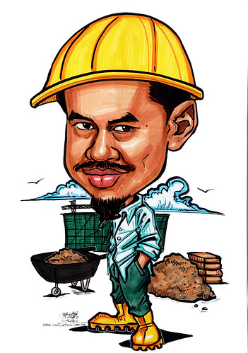 Caricatures for NUS - construction