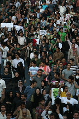 - (7) (sabzphoto) Tags: people iran crowd protest 24 tehran farshad  khordad iranelection    farahsa