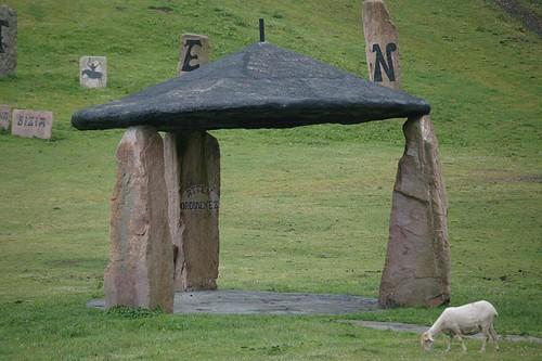 Beret, peru harri stone-lifting museum