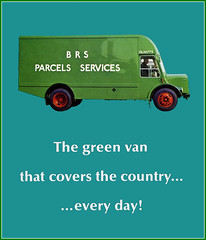 British Road Sevices, Parcel Services (Lady Wulfrun) Tags: poster parcel services bmc brs noddyvan britishroadsevices