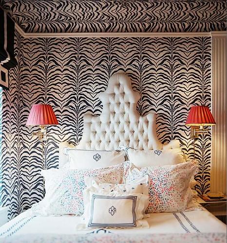 zebra wall - lonny