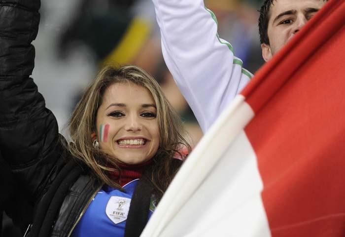 Bellezas del Mundial Sudáfrica Italia