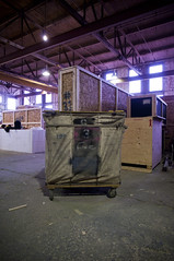 The Bin (nosalitar) Tags: building calgary businesses dominion fd ramsay theatricalconstruction fdscenechanges