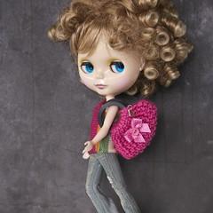 Blythe fashion handbag