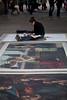 Emma McNally, Southbank (London) Artist (Craig Jewell Photography) Tags: london painting iso100 artist pavement davinci australia brisbane southbank replica painter f28 uktrip 1200sec canoneos5dmarkii emmamcnally ef100mmf28lmacroisusm cpjsm