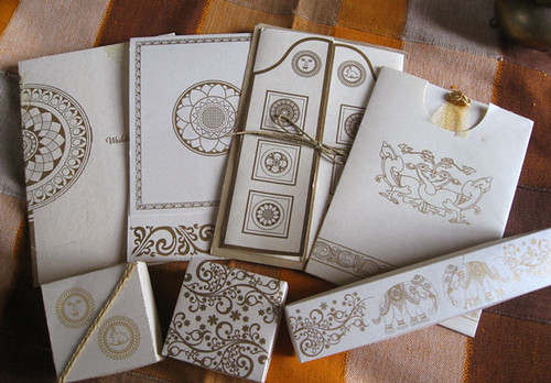 Wedding invitations greeting cards with traditional Sri Lanka Arts by