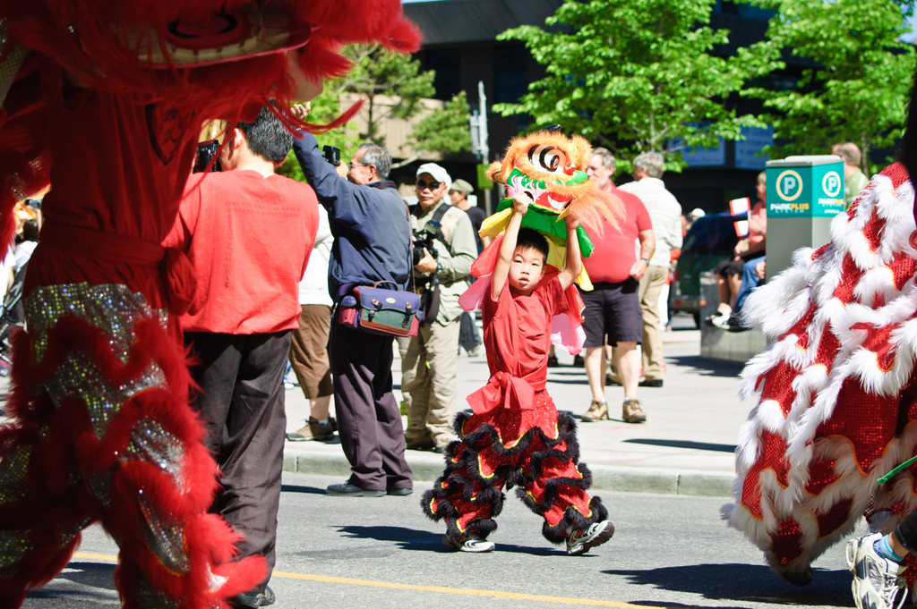 Calgary Chinatown Centennial Celebration on June 13th, 2010 - The Parade