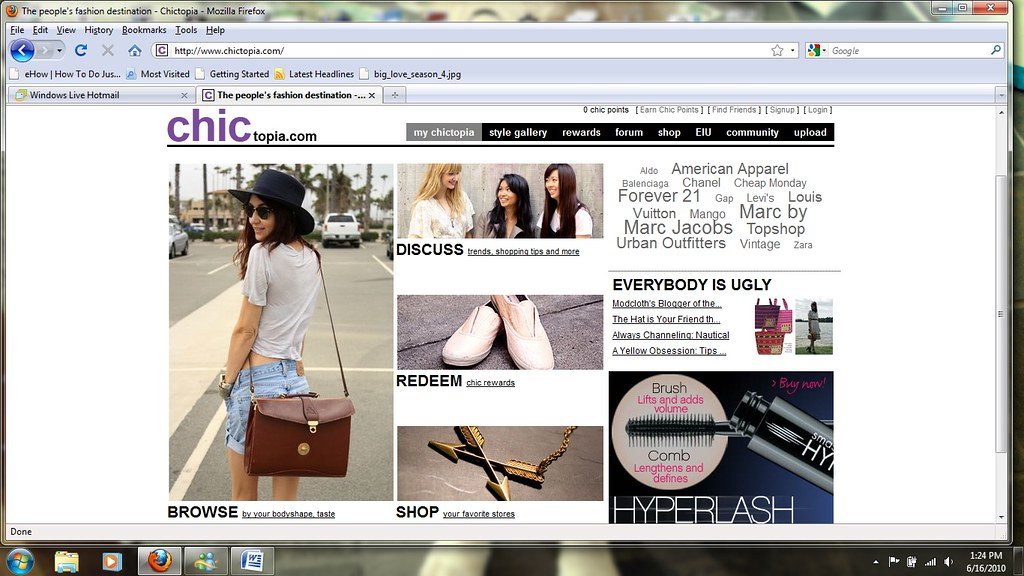 chictopia front page