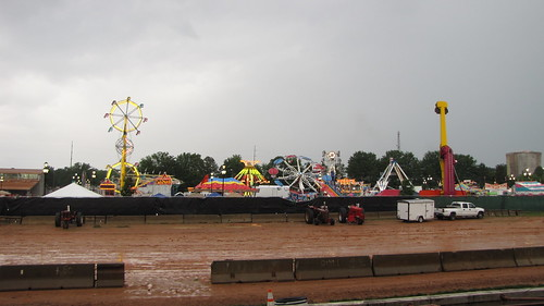 Muddy fair grounds