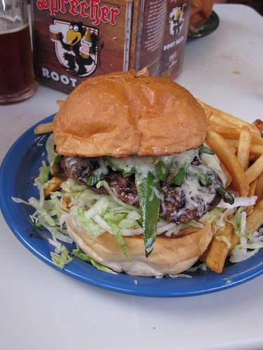 Jalapeño & Jack Sirloin Burger