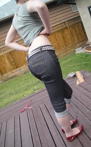 Jalie Jeans---Capri style