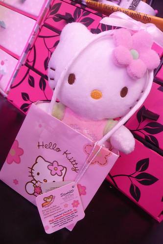Hello Kitty in a bag