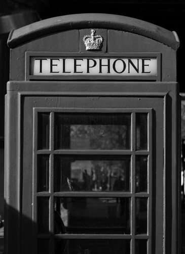 K6 Telephone Box, Embankment, London