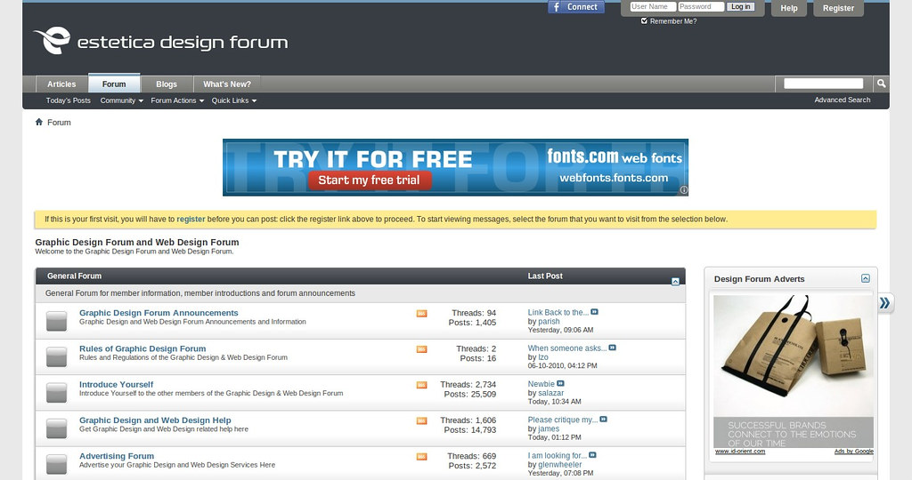 online design discussion forum