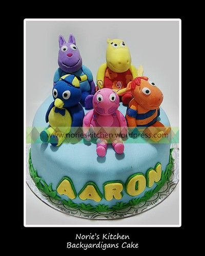 Norie's Kitchen - Backyardigans Cake