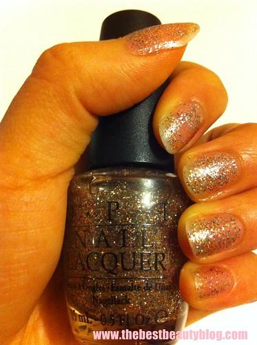 OPI, shimmer, Burlesque, nail polish