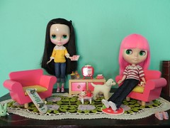 We ♡ our pink furniture!