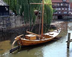 Germany; Hansestadt Lneburg; Salzewer (blacky_hs) Tags: germany boot sailing ship harbour stint crew rosen hafen schiff ewer hanse hansestadt rote ilmenau lneburg oseberg stintmarkt salzewer