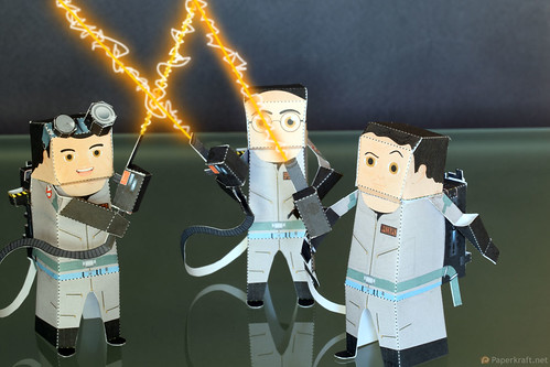 Ghostbusters Papercraft - Halloween 2010 - Pic 001