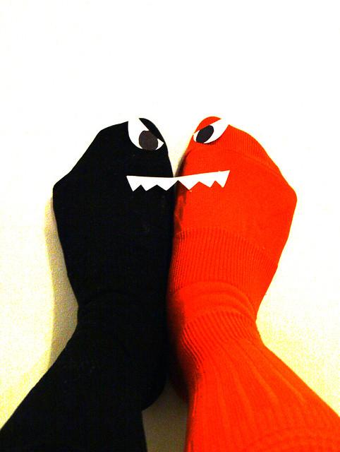 Day 61 - Halloween Socks