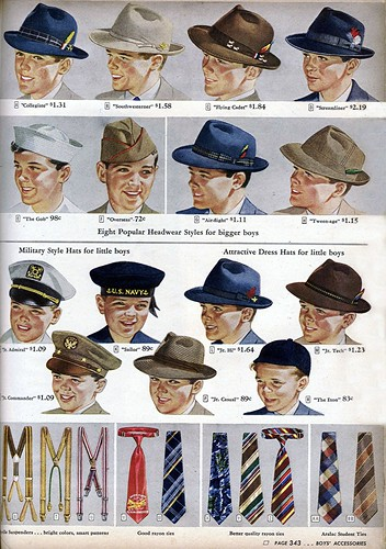 1944 - Boy's Hats