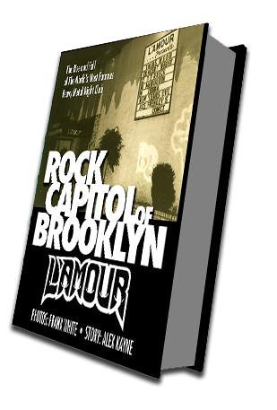 L'Amour: Rock Capitol of Brooklyn (Book Cover)