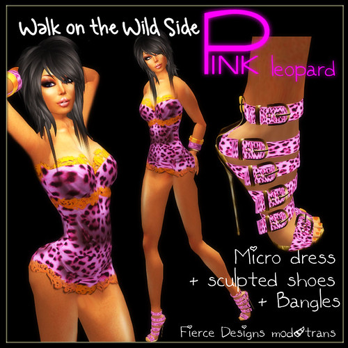 walk on the wild side pink leopard