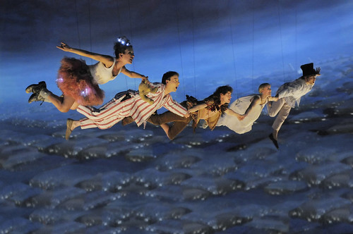 PETER PAN Flight to Neverland (c) Kevin Berne