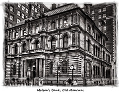 Molson's Bank, Old Montreal (Tim Moffatt) Tags: old travel blackandwhite bw canada black building history beer sepia high quebec top montreal traditional extreme bank canadian elite oldmontreal enhanced hdr highdynamicrange topaz molson iamcanadian exceptionally tonemapping tonemap hdrextremes extremehdr elitephotography hdrcanada silverefex elite~photography