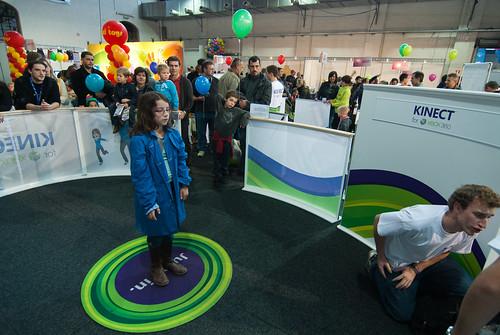 Zelie op Kinect