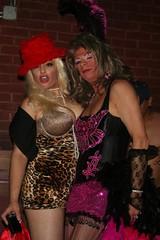 Spin IMG_4168A (Ragina Cline) Tags: chicago sexy halloween stockings girl club night drag boobs spin tgirl thigh crossdresser crossdress 2010 highs