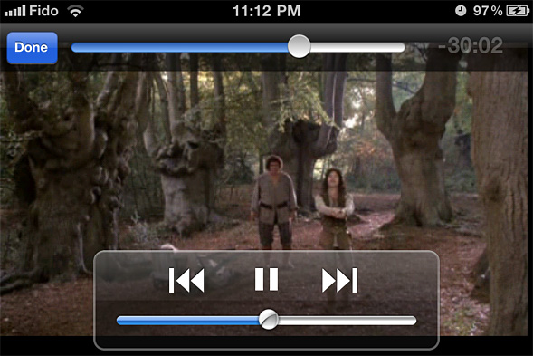 Using VLC Media Player for the iPhone