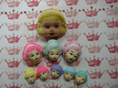 Rococco Head Doll Part Value Pack!