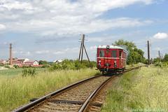 ČSD - M131.1549 @ Rožďalovice, 06-06-2017 by Paul van Baarle - Het voorlopig laatste plaatje van de ČSD (voormalige Tsjechoslowaakse staatsspoorwegen) dieselmotorwagen M131.1549 - met nu een vrolijk dieselwalmpje uitstotend - is bij Rožďalovice (spoorlijn 061 Nymburk - Jičín) in een bijpassende klassieke omgeving met telegraafmasten etc. Andere foto's van mijn Tsjechië-trip volgen t.z.t. in dit theater.  For the time being my last picture of ČSD (Československé státní dráhy = former Czechoslovak State Railways) railcar M131.1549 is taken near Rožďalovice (railway line 061 Nymburk - Jičín) in corresponding classic scenery. More pictures of my trip in the Czech Republic will follow at a later stage.  © Paul van Baarle - no unauthorised use. Press L to view Large. Please watch ¦ My Photostream ¦ Set CZ-Czech Republic ¦
