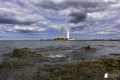 St mary's lighthouse (Morty1884) Tags: canon st marys lighthouse lighthouses sea ocean eaves northeast uk