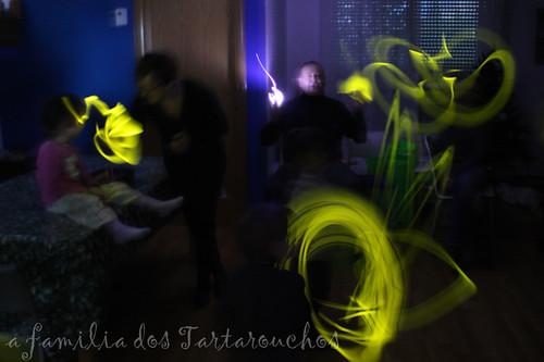efectos luminosos
