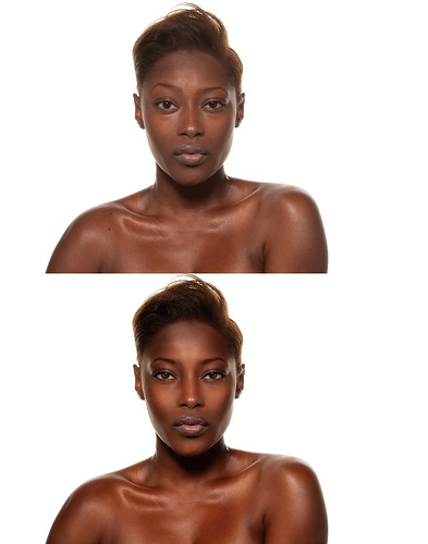 Ebony Retouch (Before and After)