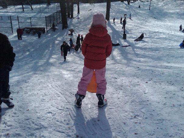 sledding-in-fort-greene-park