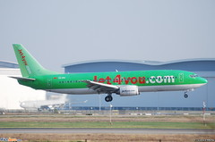 Boeing 737-400 Jet4You (JFU) CN-RPA - MSN 24750/1916 (Luccio.errera) Tags: msn boeing tls 737400 jfu jet4you cnrpa 247501916