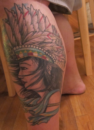 aztec tattoos. Inca/Mayan/Aztec Woman