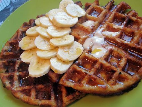 xmas waffles