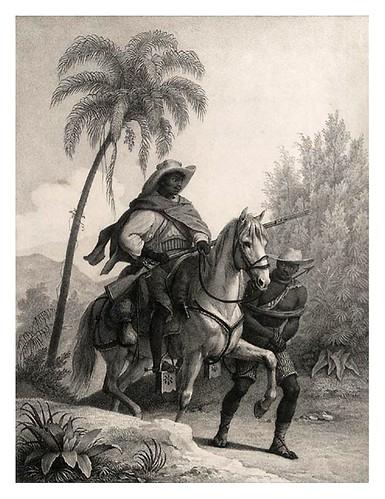 012- Capitão do matto- Rugendas Johann Moritz- Viagem pitoresca através do Brasil 1835