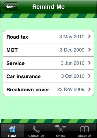 Green Flag's new iPhone app gets it wrong on VED