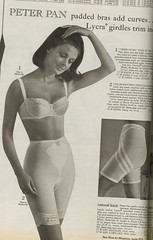 Spiegel catalog 1966, padded bra and shaper (genibee) Tags: fashion vintage women spiegel bra peterpan 1966 catalog catalogue lycra padded girdle shaper