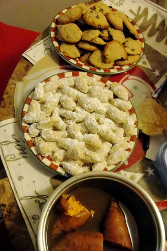 dessert christmas spread